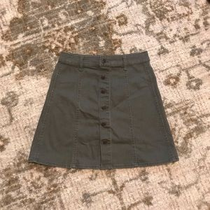 Mossimo Olive Green Skirt